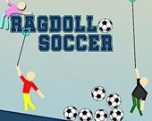 Футбол тряпичными куклами