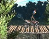 Гонки на мотоциклах по лесу