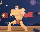 Роботы-воины 3 в ряд