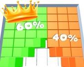 Битва цветных 3D блоков