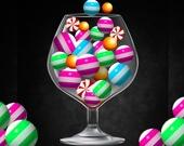 Стакан с конфетами 3D