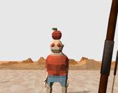 Стрельба из лука в яблоко