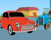 Раскраска: Ретро-автомобили