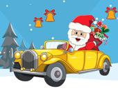 Рождественские машинки Найди колокола