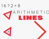 Арифметические линии