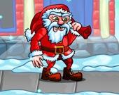 Санта в бегу