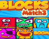 Блоки с монстрами - 3 в ряд