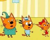 Коллекция пазлов: 3 кошки