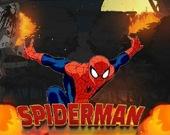 Человек-паук убивает робота