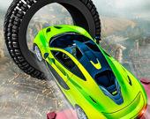 Сумасшедшие трюки на гоночных автомобилях 2019