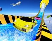 Водные горки: Приключение гоночных авто 2020