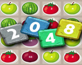 2048 фрукты