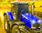 Деревенский трактор