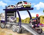 Внедорожный полицейский транспорт