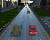 Сумасшедшая скоростная гонка по трафику