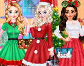 Принцессы: Рождественская вечеринка