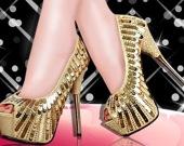 Создание обуви: дизайн высоких каблуков