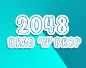 2048: перетаскивай и бросай