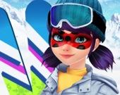 Маска для Леди: Лыжи