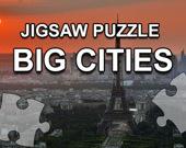 Большие города: игра-пазл