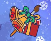 Рождественские Штучки: игра-раскраска