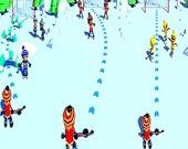 Хоккейный бросок 3Д