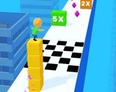 Серф на кубиках 3D