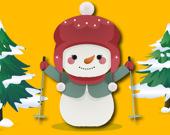 Поймайте снеговика