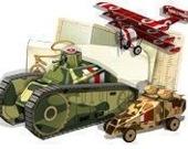 Война в коробке. Бумажные танки